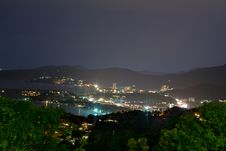 Free Night View From The Viewpoint Of Phuket Royalty Free Stock Images - 22774739