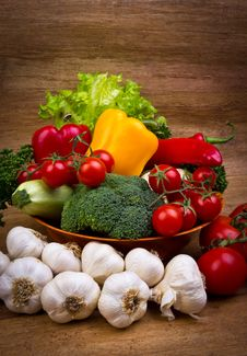 Free Fresh Vegetables Stock Photography - 22775042