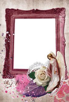 Love Frame No3 Stock Image