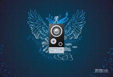 Free Music Background Royalty Free Stock Photos - 22776298