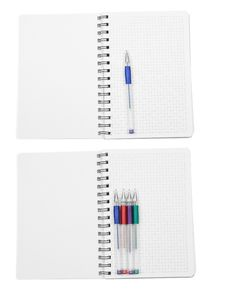 Paper With Pen Stock Image