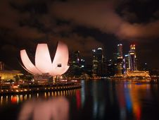 Free The Marina Bay Waterfront Royalty Free Stock Photography - 22780197