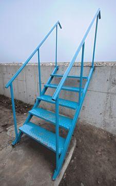 Free Metal Stairs Royalty Free Stock Photos - 22780498