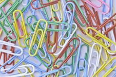 Free Colorful Of Paper Clip Stock Photos - 22780623