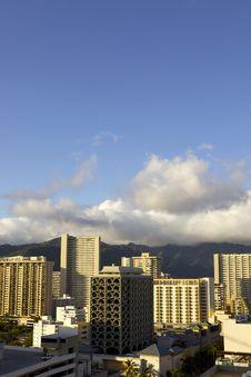 Free Sunrise In Waikiki Hawaii Royalty Free Stock Images - 22781269