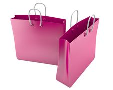Free Two Shopping Bags Stock Photos - 22787283