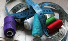 Free Sewing Kit Royalty Free Stock Photography - 22788697