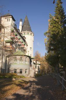 Free Castle In Imatra, Finland Stock Image - 22790791