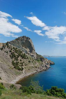 Free The Crimean Seascape With Cape Hoba-Kaya. Stock Photo - 22798940