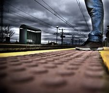 Free Waiting The Train Stock Image - 22799221