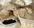 Free Bread And Olives Royalty Free Stock Photography - 2280067