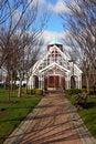 Free Winter Gazebo Stock Photography - 2283022
