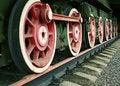 Free Locomotive Wheels Royalty Free Stock Image - 2288036