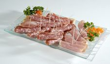 Free Sliced Meat Royalty Free Stock Images - 2280009