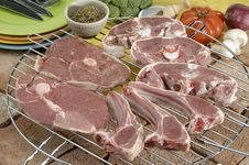 Free Pork Chops Royalty Free Stock Photo - 2280045