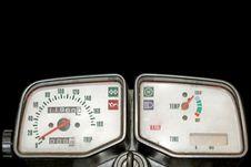 Free White Speedometer Royalty Free Stock Photos - 2280348