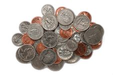 Free Coins Royalty Free Stock Images - 2281099