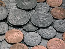 Free Coins Royalty Free Stock Photos - 2281118