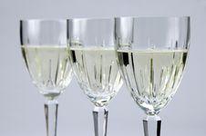 Free White Wine Glasses Stock Photos - 2282253
