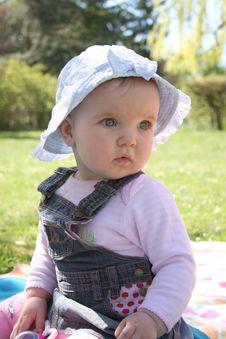 Free Lawn Baby Stock Photos - 2284373