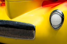 Free Car Headlight Royalty Free Stock Image - 2285146