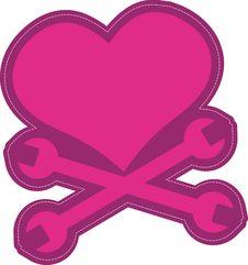 Free Heart Shape Clip Art Design Stock Photo - 2287970