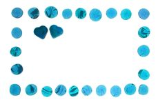 Free Blue Hearts Gems Stock Photography - 2288782
