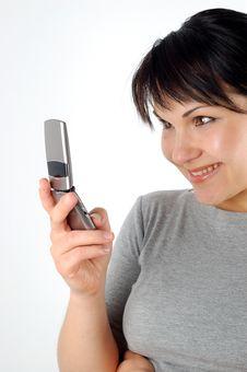 Free Phone Woman 14 Royalty Free Stock Photos - 2289678
