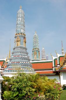 Free Royal Temple - Bangkok Stock Image - 2289851
