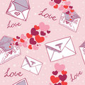 Free Love Letter Valentine Seamless Texture Stock Images - 22803434