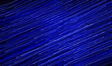 Free Abstract Blue Lights Royalty Free Stock Photography - 22805027
