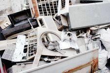 Free Electronic Garbage Royalty Free Stock Photos - 22806538
