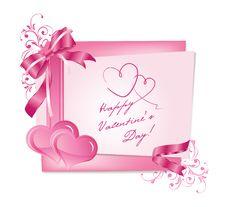 Free Valentine Card 1 Royalty Free Stock Image - 22807146