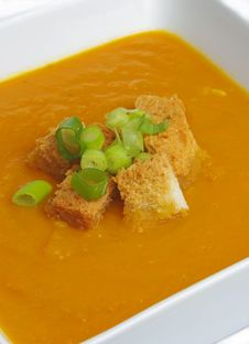 Free Pumpkin Soup Royalty Free Stock Photo - 22812485