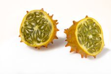 Free Sliced Kiwano Stock Image - 22812571
