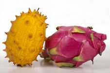 Free Kiwano & Pitahaya Stock Photo - 22812610