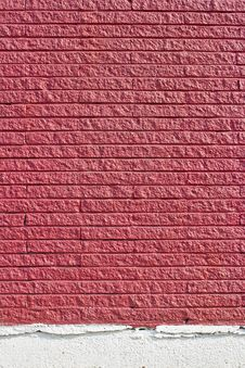 Free Red Brick Wall Texture Royalty Free Stock Image - 22813186