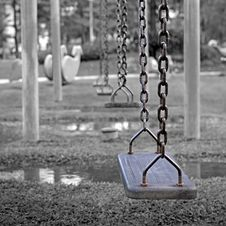 Free Swings, Children Royalty Free Stock Image - 22813766