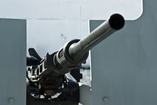 Free Old Cannon Royalty Free Stock Photo - 22815365