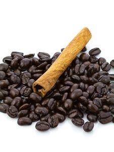 Free Cinnamon Coffee Royalty Free Stock Image - 22817016