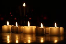 Free Candles Stock Image - 22817411