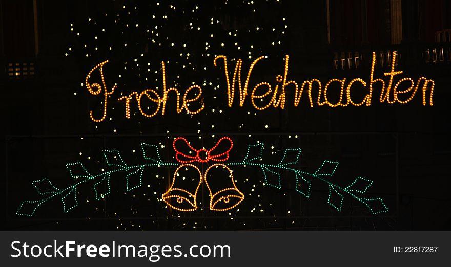 Merry Christmas in german