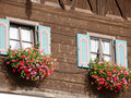 Free Old House With Flowers Royalty Free Stock Images - 22822589