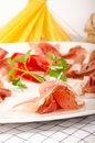 Free Prosciutto Plate Stock Image - 22823501