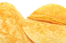 Potato Chips &x28;Crisps&x29; Close-Up Stock Photography