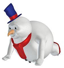 Free Snowman . 8 Royalty Free Stock Photo - 22821905