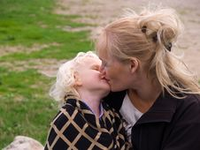 Free Close Up Of Affectionate Mother And Daughter Stock Image - 22822531