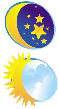 Free Moon_sun Stock Photo - 22826130