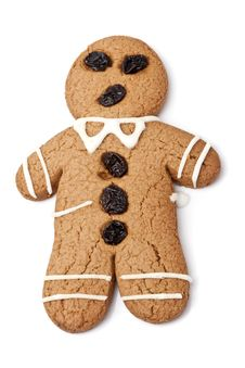 Free Gingerbread Man Stock Photography - 22827222