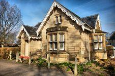 Scottish House - HDR Royalty Free Stock Photo